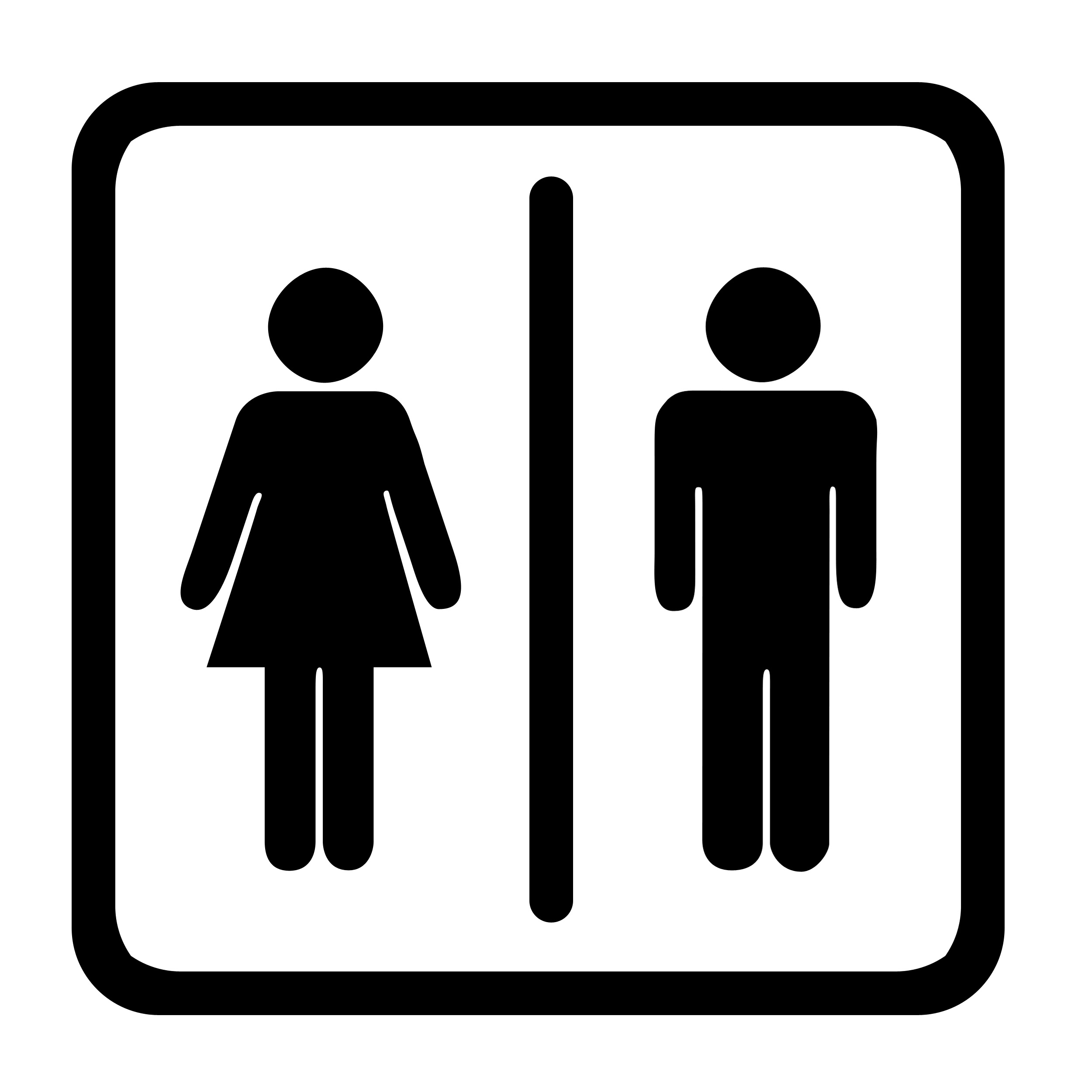 Tualett premium 7 for Boy and girl bathroom door signs